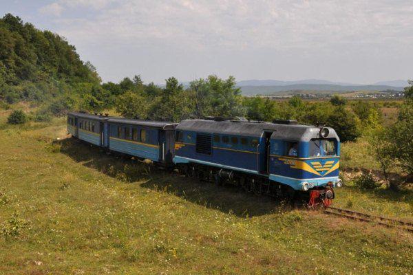 На Рожнятівщині відновлять вузькоколійну залізницю