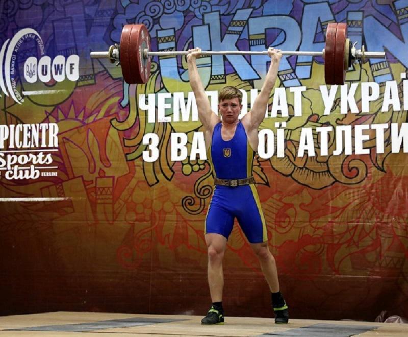 Прикарпатець зайняв призове місце на на чемпіонаті України з важкої атлетики (фотофакт)